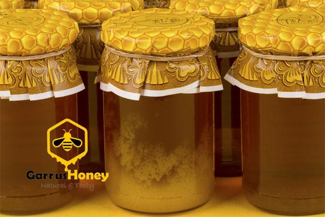 شکرک زدن عسل طبیعی
